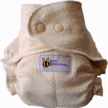 Baby Beehinds One Size Bamboo Fitted Diapers