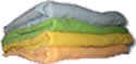BumWear Prefold Colored Diapers